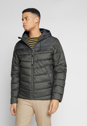 ATTACC QUILTED JACKET - Light jacket - asfalt