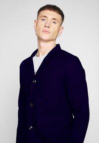 G-Star - UTILITY 4 BUTTON BLAZER - Blazer jacket - mazarine blue - 3