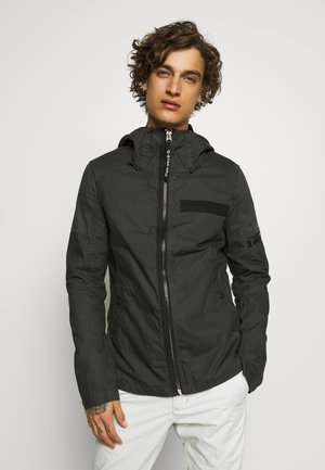 BATT OVERSHIRT - Summer jacket - raven