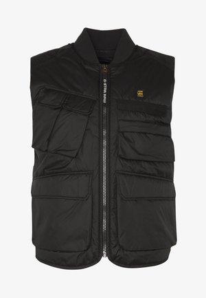 MULTIPOCKET VEST - Väst - black