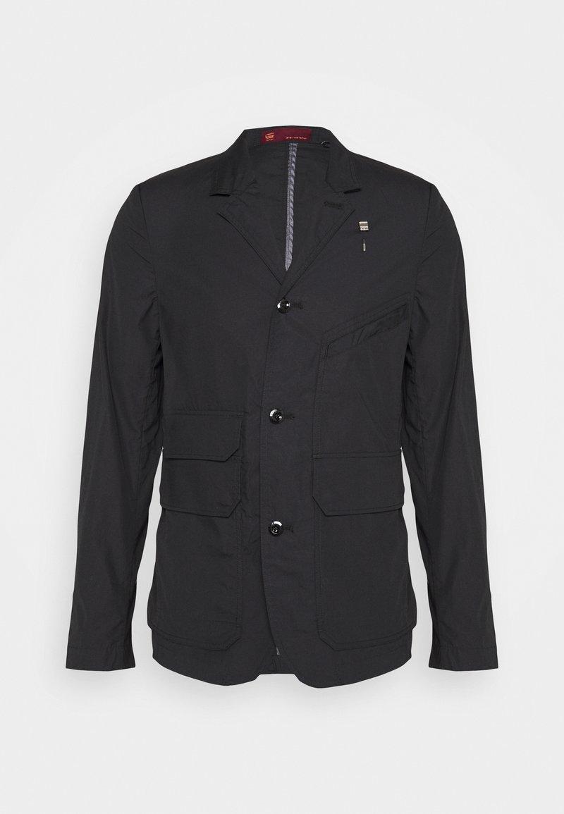 G-Star - UTILITY 4BTTN - Summer jacket - black