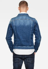G-Star - 3301 SLIM - Denim jacket - faded stone - 1