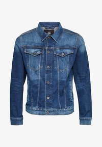 G-Star - 3301 SLIM - Veste en jean - faded stone - 5