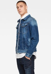 G-Star - 3301 SLIM - Denim jacket - faded stone - 2