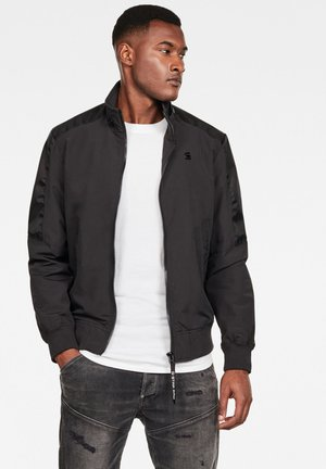 MESON TRACK - Light jacket - dark black