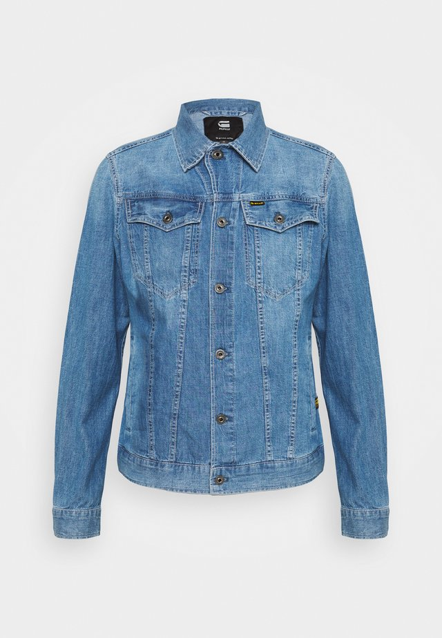 3302 SLIM JKT - Chaqueta vaquera - faded orion blue