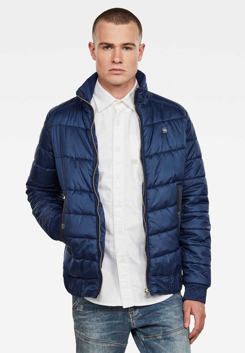 G-Star - MEEFIC QUILTED - Winterjas - imperial blue