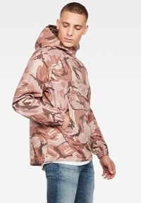 G-Star - TROZACK - Blouson - soft taupe/chocolate berry - 2