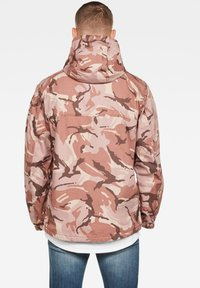 G-Star - TROZACK - Blouson - soft taupe/chocolate berry - 1