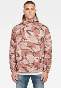 G-Star - TROZACK - Blouson - soft taupe/chocolate berry - 0