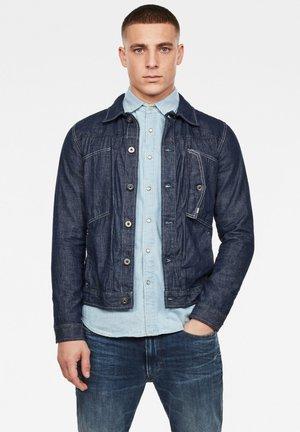 SCUTAR SLIM - Giacca di jeans - rinsed