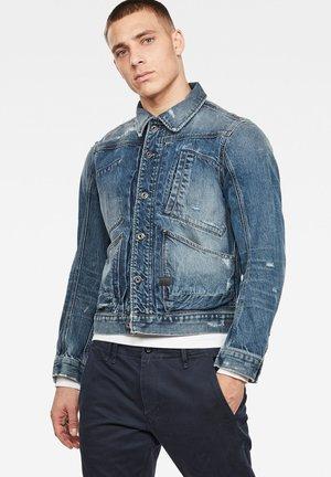 5650 - Denim jacket - antic faded prussian blue restored