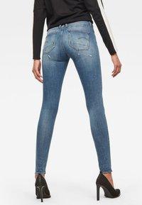 G-Star - LYNN  D-MID SUPER SKINNY - Jeans Skinny Fit - blue - 1