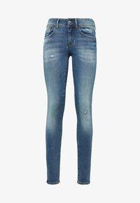 G-Star - LYNN  D-MID SUPER SKINNY - Jeans Skinny Fit - blue - 3