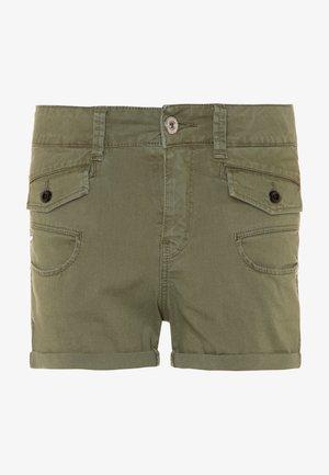 Jeansshort - khaki