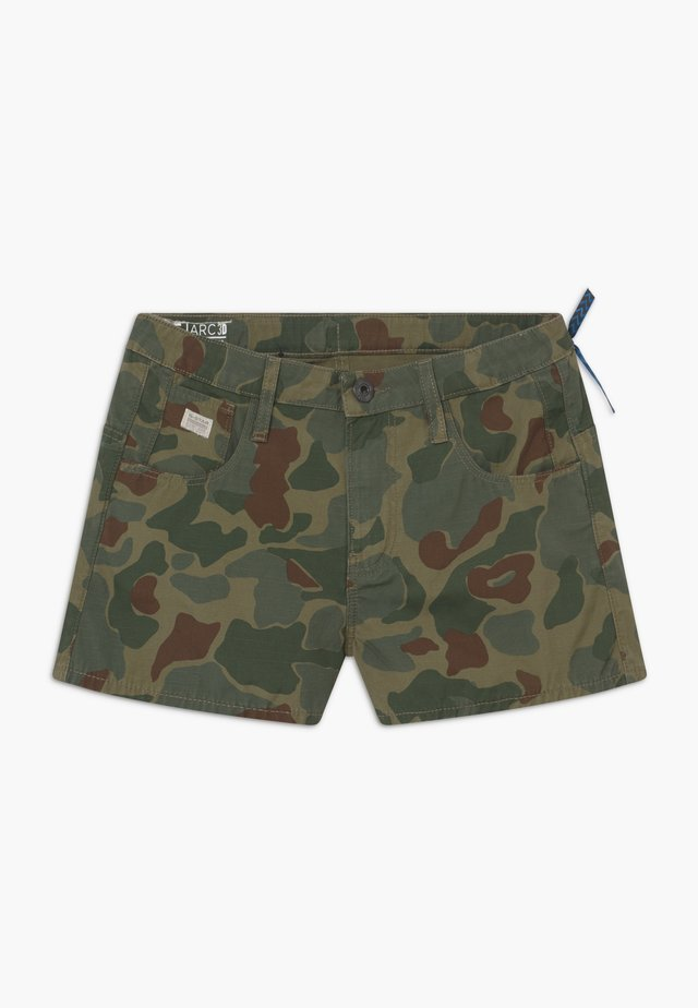 SHORT ARC - Kraťasy - khaki