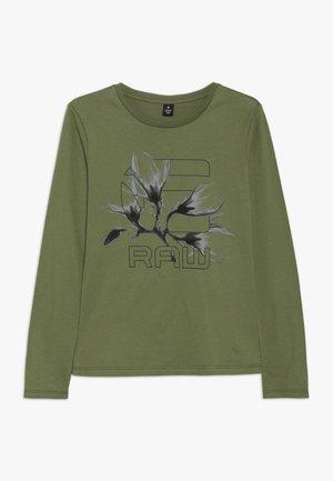 LS TEE - T-shirt à manches longues - kaki green