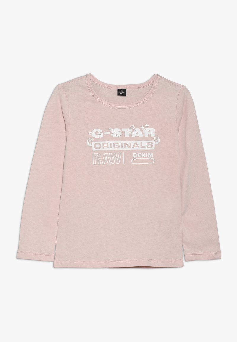 G-Star - LS TEE - Langærmede T-shirts - mid pink