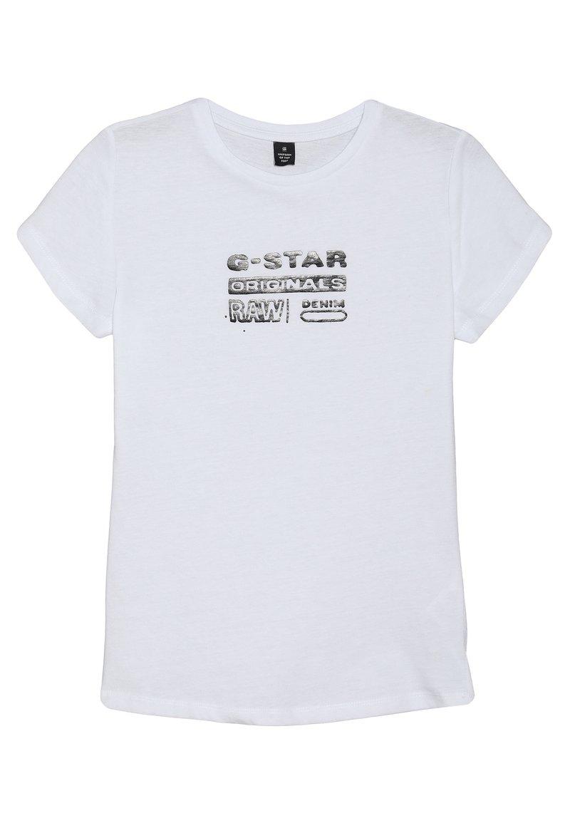 G-Star - TEE - T-shirt med print - white