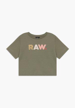T-shirts med print - khaki