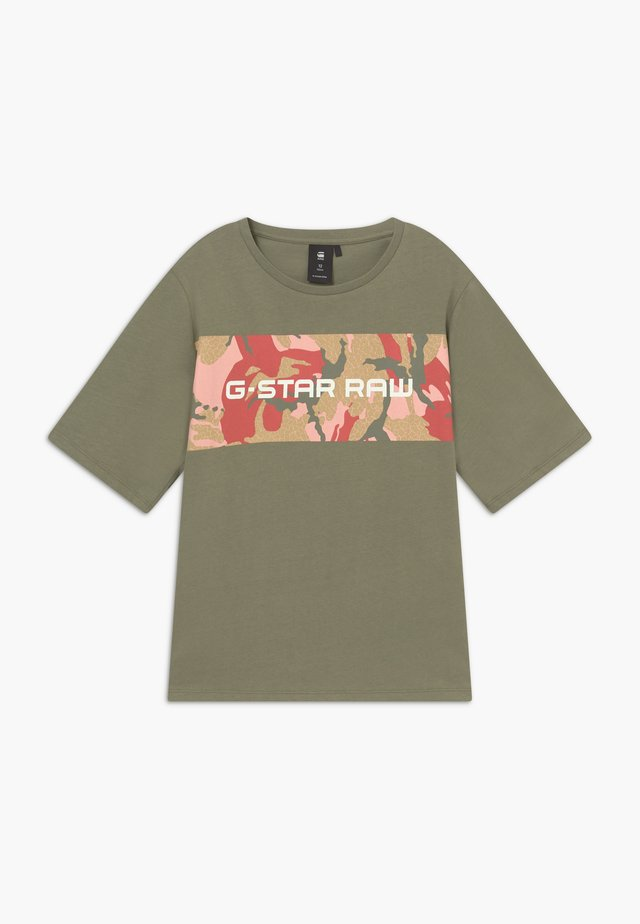 Camiseta estampada - khaki