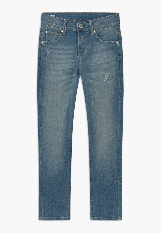 3301 - Vaqueros slim fit - stone blue denim