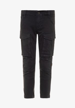 PANT ROVIC - Cargo trousers - navy