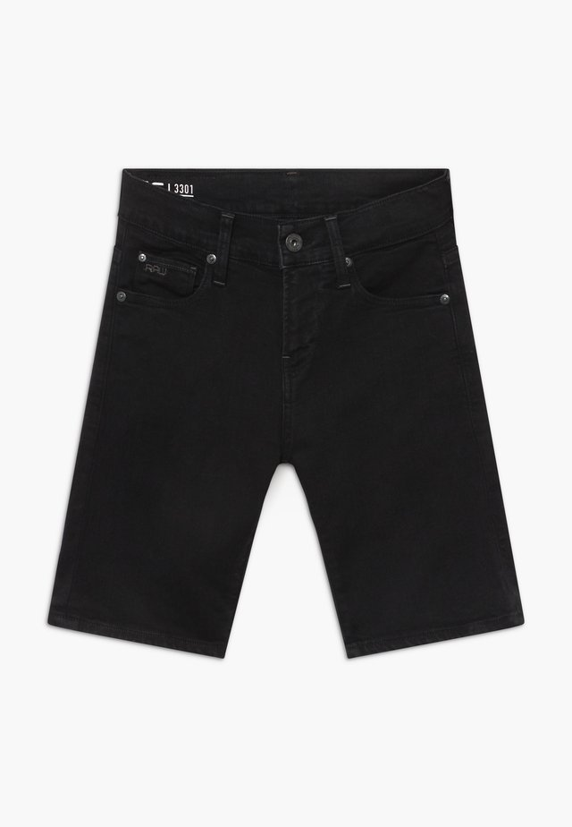 BERMUDA - Jeansshort - black