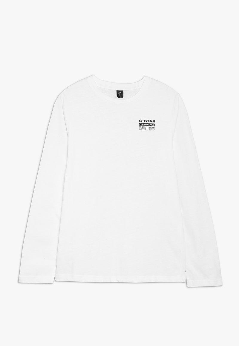 G-Star - LS SHIRT - Langarmshirt - white