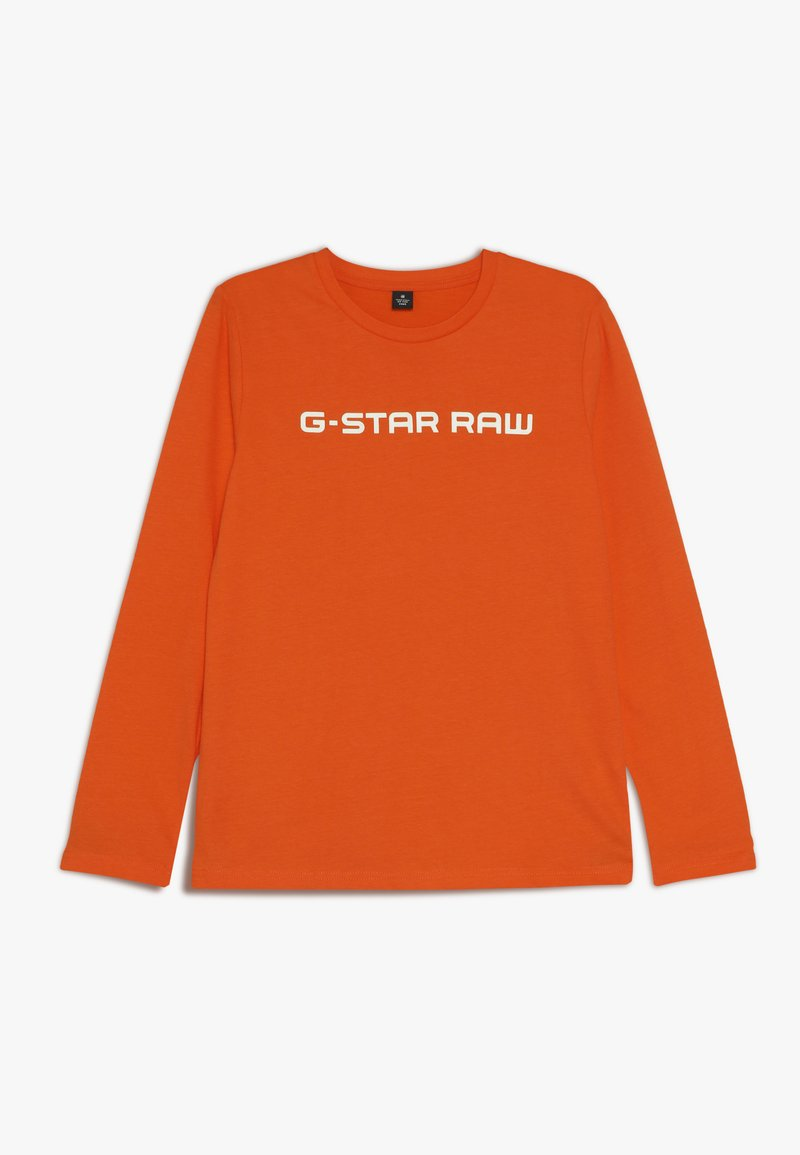 G-Star - LS TEE - Topper langermet - orange