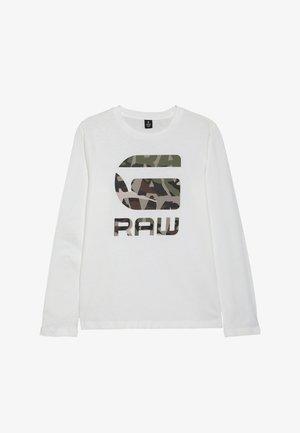 TEE - T-shirt à manches longues - nickel