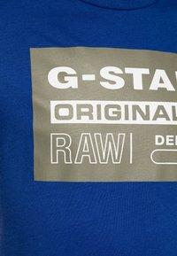 G-Star - SQ10035 T-SHIRTS - Camiseta estampada - blue - 2