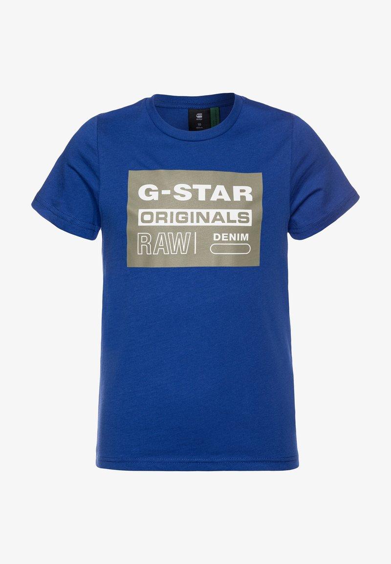 G-Star - SQ10035 T-SHIRTS - Camiseta estampada - blue