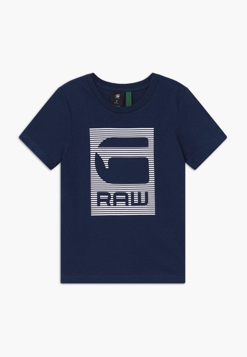 G-Star - T-shirt print - blue