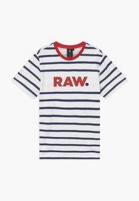 G-Star - T-shirt print - blue/red/white - 0