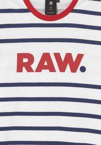 G-Star - T-shirt print - blue/red/white - 3