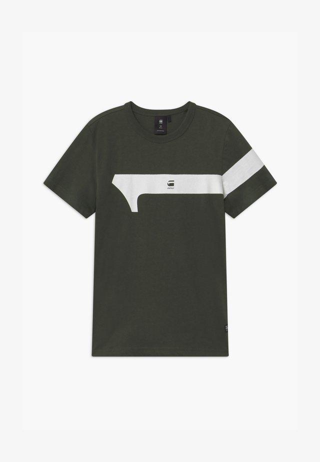 TEE - T-Shirt print - asfalt