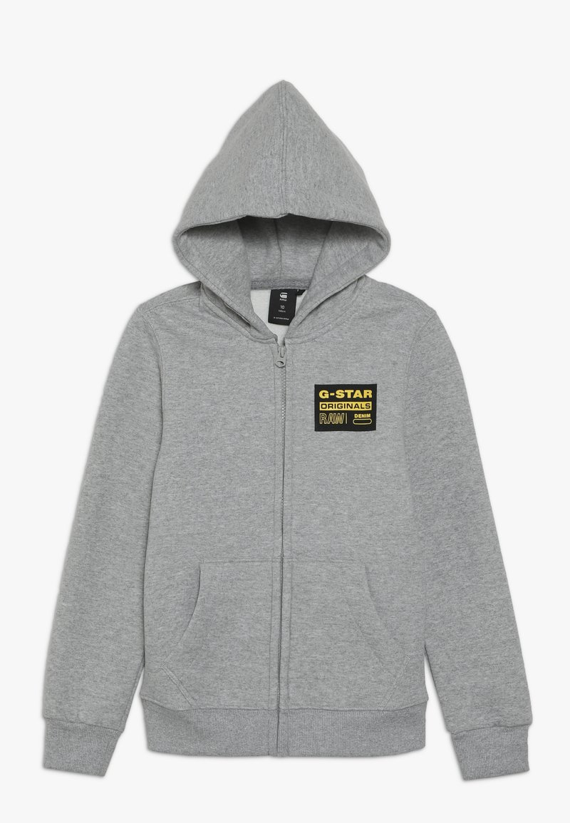 G-Star - ZIPPER - Collegetakki - grey