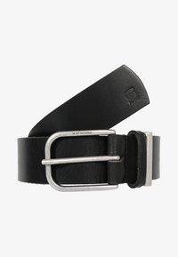 G-Star - CARLEY BELT WMN - Belt - black/antic silver - 0