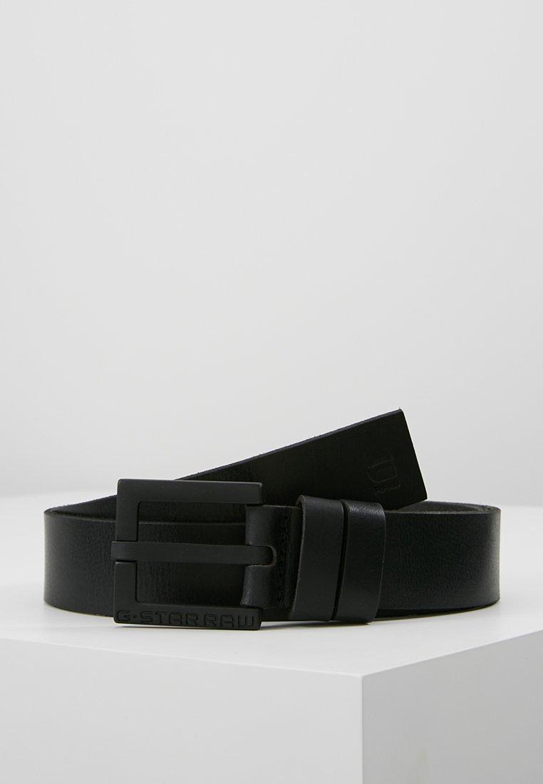 G-Star - DUKO BELT - Pásek - black