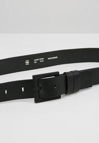 G-Star - DUKO BELT - Pásek - black - 4
