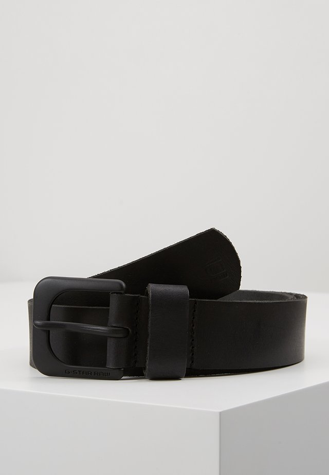 ZED BELT - Riem - black