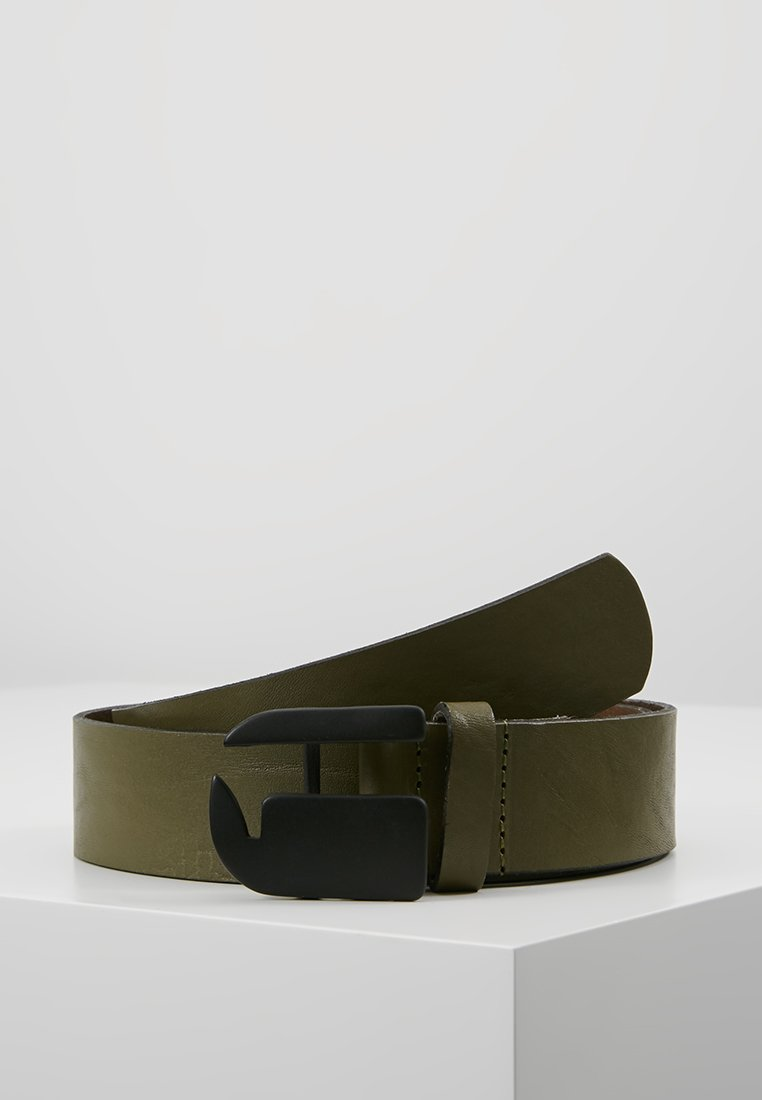 G-Star - RIKKU LOGO PIN BELT - Pásek - sage/matt black