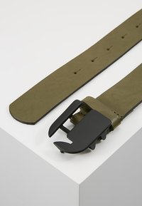 G-Star - RIKKU LOGO PIN BELT - Pásek - sage/matt black - 2