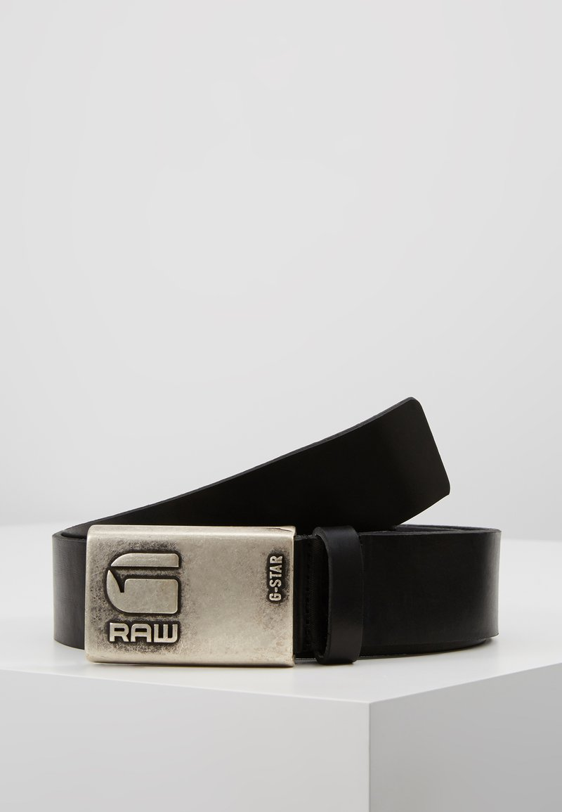 G-Star - GRIZZER PIN - Belt - black/antic silver