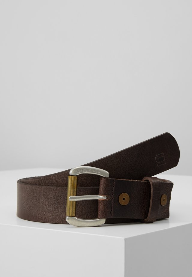 DAST BELT - Cinturón - dark brown