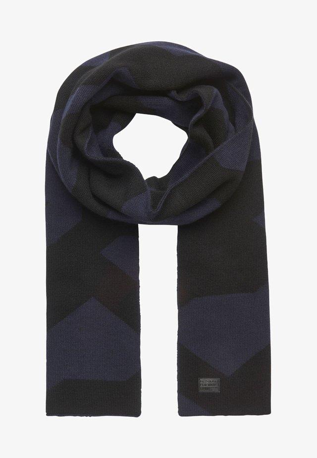 DREGO - Schal - dark black