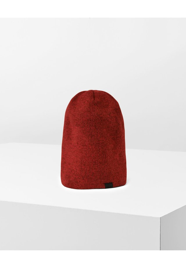 EFFO LONG    - Mössa - rusty red/acid red/dk burnt red