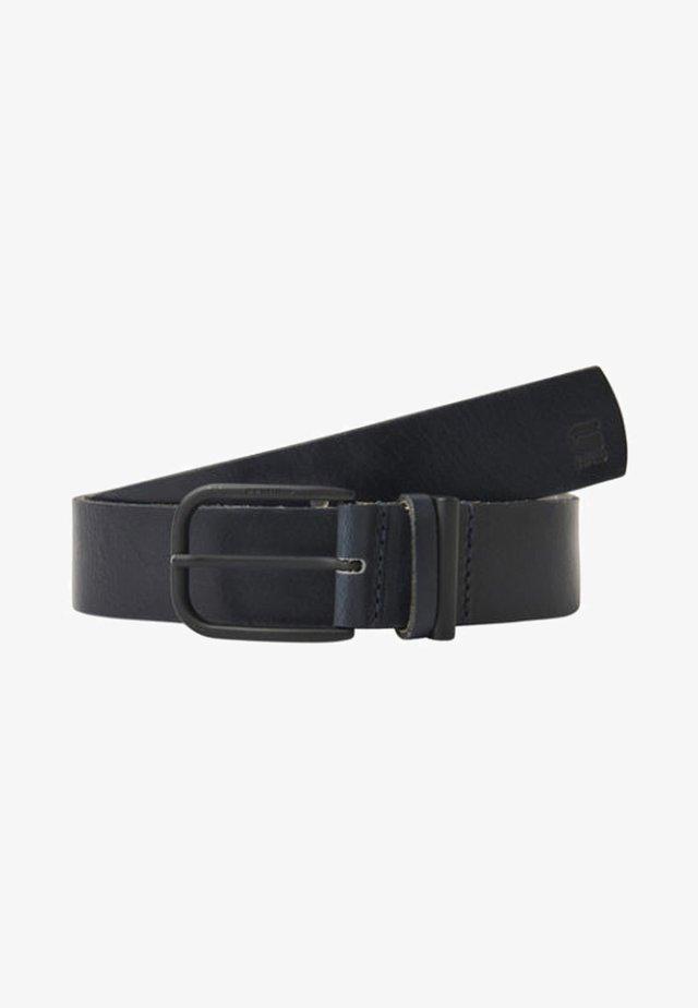 CARLEY  - Gürtel - mazarine blue/black