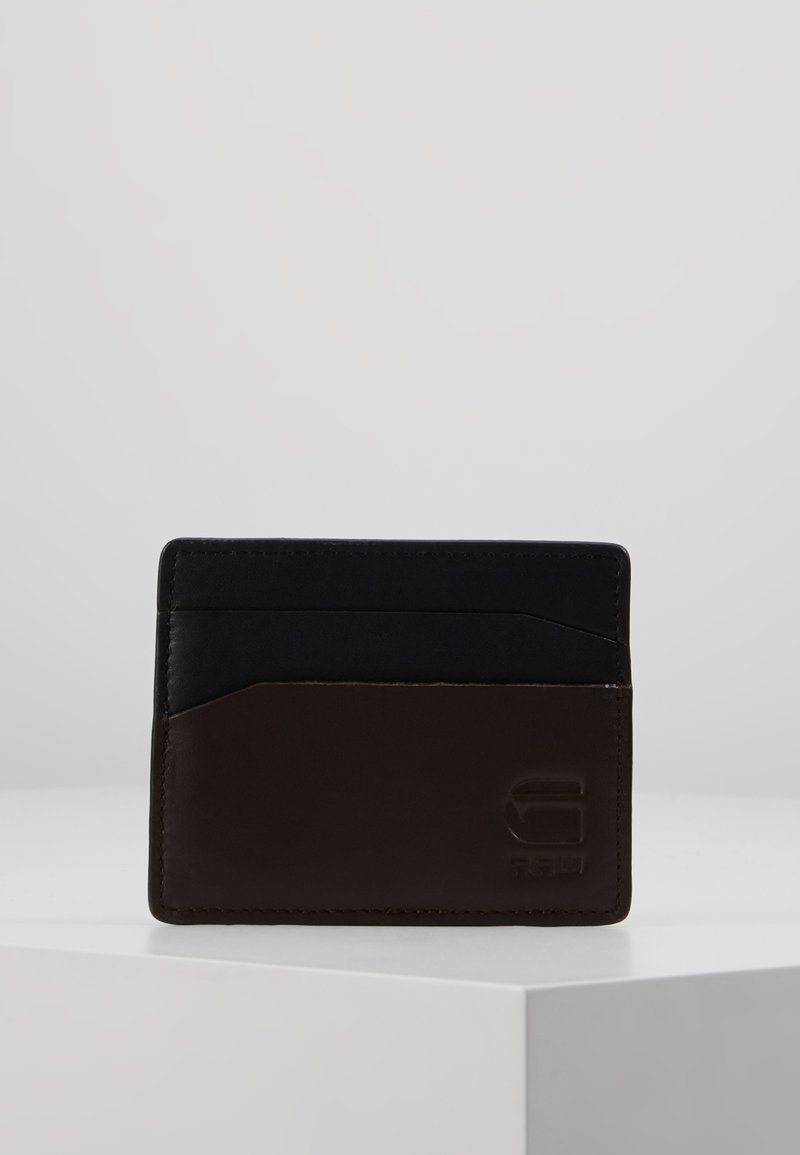 G-Star - ZALLIK GRIZZER CC HOLDER - Wallet - dark black/dark brown